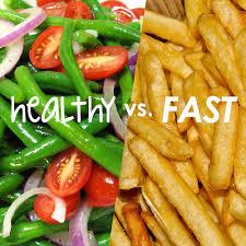 fast-food vs mancare gatita